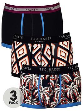 ted-baker-3pk-pattern-trunks