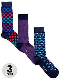 ted-baker-3pk-pattern-socks