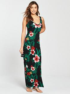 v-by-very-floral-v-neck-jersey-maxi-dress
