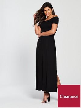 v-by-very-sheered-body-jersey-maxi-dress-black
