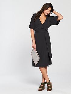 v-by-very-cupro-jersey-wrap-dress-black