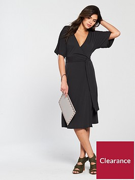 v-by-very-cupro-jersey-wrap-dress-black