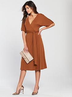 v-by-very-cupro-jersey-wrap-dress