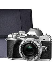 olympus-olympus-om-d-e-m10-mk-iii-silver-camera-kit-inc-14-42mm-lens-32gb-sd-and-case