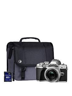 olympus-olympus-om-d-e-m10-mk-iii-silver-camera-kit-inc-14-42mm-lens-32gb-sd-and-case