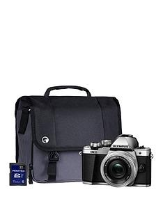 olympus-olympus-om-d-e-m10-mk-ii-silver-camera-kit-inc-14-42mm-lens-32gb-sd-and-case