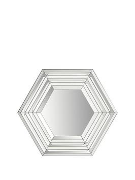 hexagonal-bevelled-edge-wall-mirror