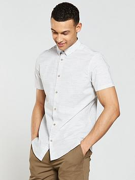 v-by-very-short-sleeved-horizontal-stripe-shirt-ecru