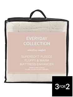 everyday-collection-super-soft-teddy-fleece-deep-5cm-mattress-topper-ks