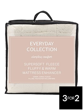 everyday-collection-super-soft-teddy-fleece-deep-5cm-mattress-topper-ks