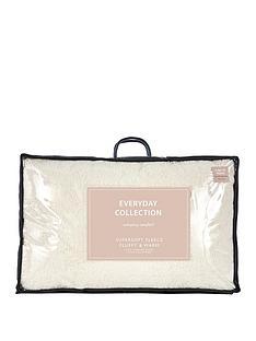 Everyday Collection Super Soft Teddy Fleece Pillow Pair