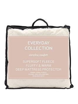 everyday-collection-super-soft-teddy-fleece-mattress-protector-ks
