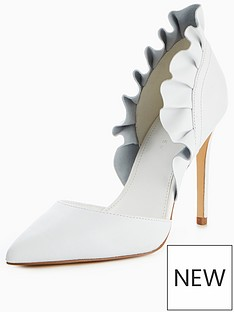 v-by-very-sofia-leather-frill-point-court-shoe-white