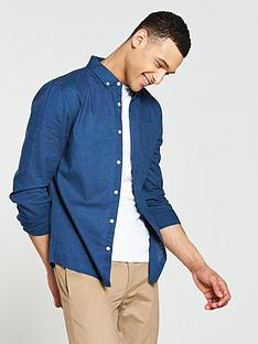 v-by-very-long-sleeved-linen-mix-shirt