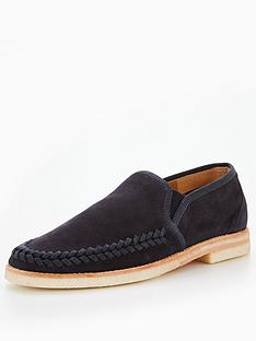 hudson-london-tangier-suede-loafer