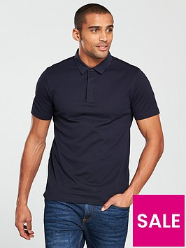 v-by-very-smart-woven-collar-polo-shirt-navy