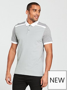 v-by-very-contrast-panel-pique-polo