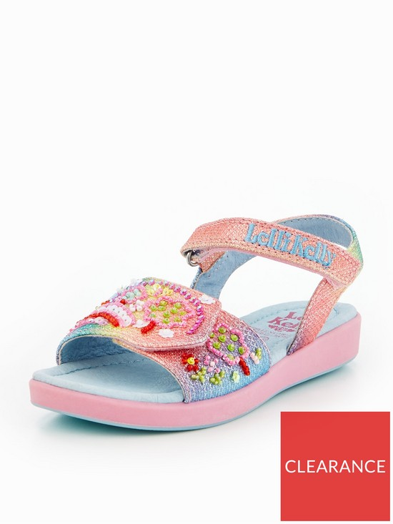 584455e85a54 Lelli Kelly Girls Rainbow Tillie Embellished Sandal - Multi