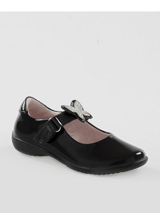 9b5276d8f8ae Lelli Kelly Angel Interchangeable Strap School Shoe