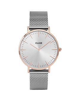 cluse-cluse-la-bohegraveme-mesh-rose-gold-case-with-silver-dial-and-silver-mesh-strap-ladies-watch