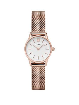 cluse-cluse-la-vedette-rose-gold-case-with-white-dial-and-rose-gold-mesh-strap-ladies-watch