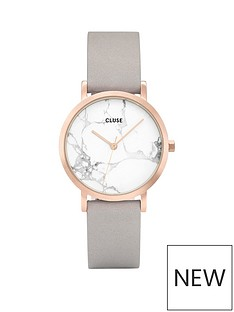 cluse-cluse-la-roche-petite-rose-gold-white-marble-dial-and-grey-leather-strap-ladies-watch