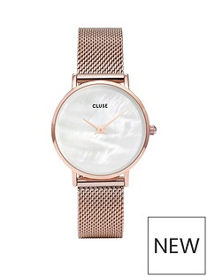 cluse-cluse-minuit-la-perle-rose-gold-case-with-white-pearl-dial-and-rose-gold-mesh-strap-ladies-watch
