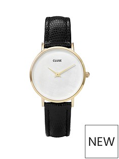 cluse-cluse-nbspminuit-la-perle-gold-case-with-white-pearl-dial-and-black-faux-lizard-leather-strap-ladies-watch