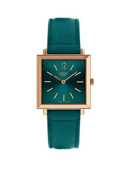 henry-london-henry-london-stratford-teal-heritage-square-ladies-strap-watch