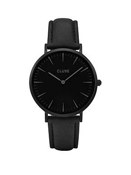 cluse-cluse-la-bohegraveme-full-black-case-with-black-dial-and-black-leather-strap-ladies-watch