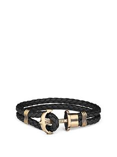 paul-hewitt-paul-hewitt-phrep-black-leather-brass-anchor-fastener-mens-bracelet-large-size-19cms-in-length
