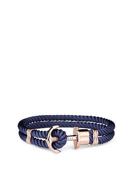 paul-hewitt-paul-hewitt-phrep-navy-nylon-with-rose-gold-anchor-fastener-ladies-bracelet-medium-size-18cms-in-length
