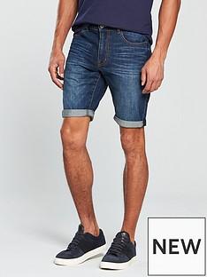 v-by-very-dark-wash-denim-shorts