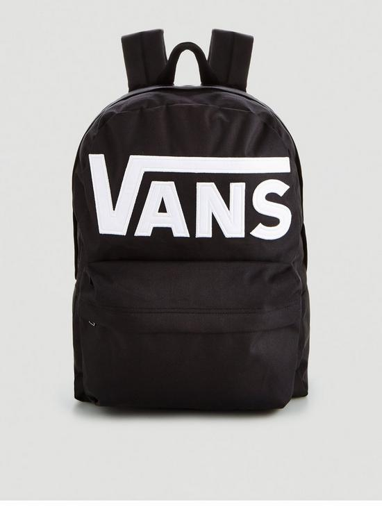 New Skool Backpack - Black/White
