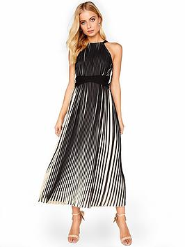 little-mistress-pleated-tie-waist-midi