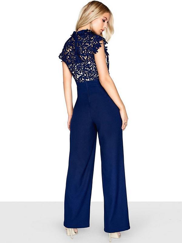 046f76150 Little Mistress Lace Jumpsuit | very.co.uk