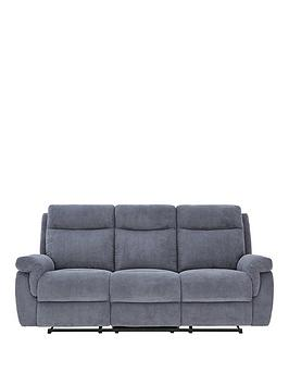 violino-baxter-3-seater-fabric-manual-recliner-sofa
