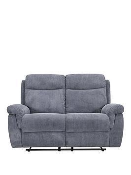violino-baxter-2-seaternbspfabric-manual-recliner-sofa