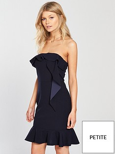 ax-paris-petite-frill-mini-dress