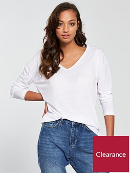 v-by-very-linen-long-sleeve-top