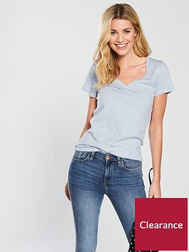 v-by-very-v-neck-slub-t-shirt