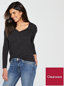 v-by-very-linen-long-sleeve-top-black