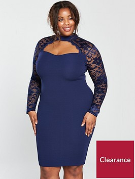 ax-paris-curve-curve-lace-sweetheart-neck-bodycon-dress