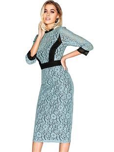 little-mistress-high-neck-lace-midi-dress-cornflower