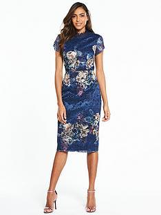 little-mistress-little-mistress-floral-placement-print-lace-midi-dress