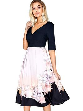 little-mistress-placement-midi-dress