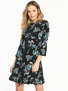 v-by-very-jersey-floral-print-frill-skater-dress