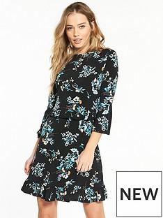 v-by-very-jersey-floral-print-frill-skater-dress