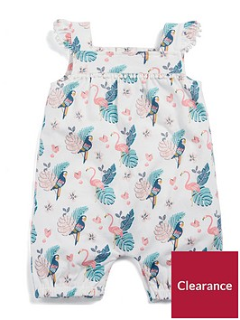 mamas-papas-baby-girls-flamingo-frill-romper