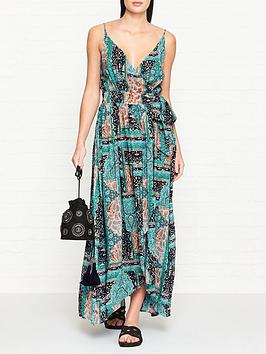 seafolly-moroccan-moon-wrap-dress-blue